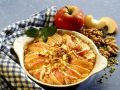Apple Pie with Walnuts and Pistachios recipe