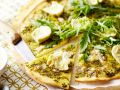 Artichoke Pizza with Arugula recipe