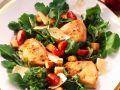 Arugula and Tomato Salad with Pork recipe