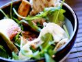 Arugula Salad with Chicken and Figs recipe