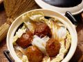 Asian Meatballs with Cabbage recipe