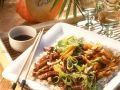 Asian Pork and Vegetable Pan with Rice recipe