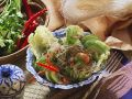 Asian Salad with Glass Noodles and Shrimp recipe