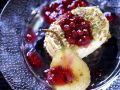 Back-Camembert with Pear and Cranberrydip recipe