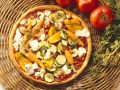 Bacon and Vegetable Pizza recipe