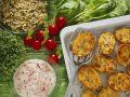 Baked Potatoes with Mascarpone Cream recipe