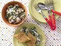 Baked Semolina with Creamed Chard recipe