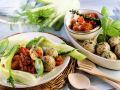 Basil Dumplings with Tomato Sauce recipe