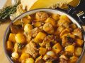 Beef Stew with Chestnuts and Pumpkin recipe