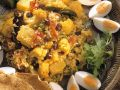 Indian Rice Dish with Garnish recipe