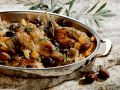 Braised Rabbit with Olives and Rosemary recipe