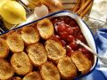 Bread Pudding with Cherries recipe