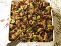 Bread Stuffing with Dried Cherries and Toasted Pecans recipe