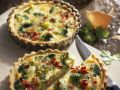Broccoli and Bacon Quiches recipe