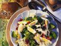 Broccoli and Cauliflower Salad with Eggs recipe