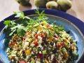 Bulgur Salad with Almonds and Pine Nuts recipe