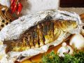Carp Stuffed with Mushrooms recipe