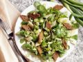 Celery Root and Mache Salad with Diamond Croutons recipe