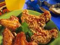 Chicken Wings with Toast recipe
