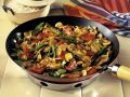Chicken with Vegetables and Cashews in a Wok recipe
