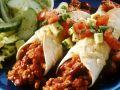 Chili Con Carne Enchiladas with Avocado Salsa recipe