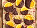 Chocolate Covered Candied Oranges recipe