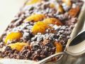 Chocolate Crumble with Apricots recipe