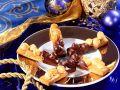 Chocolate Dipped Hazelnut Strips recipe