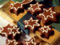 Chocolate Dipped Star Cookies recipe