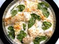 Cod and Spinach Gratin recipe