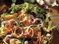 Colorful Mixed Salad with Omelet Wedges recipe