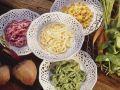 Colorful Noodles (spätzle) recipe