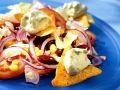 Corn and Bean Salad with Avocado Cream recipe