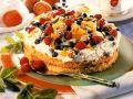 Cream Cake with Fruit and Amaretti recipe