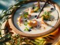 Creamy Soup with Shrimp recipe