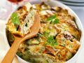 Crepe and Vegetable Gratin recipe