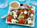 Cucumber-tomato Salad with Feta Cheese recipe
