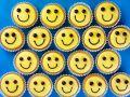 Decorated Smile Cakes recipe