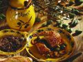 Duck Stuffed with Olives recipe