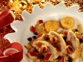 Duck with Potato Pancakes and Fruit Sauce recipe