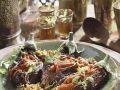 Eggplant with Tomato Filling recipe