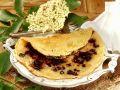 Elderberry Pancakes with Sesame recipe