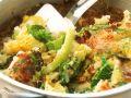 English Potato and Savoy Cabbage Gratin (bubble and Squeak) recipe