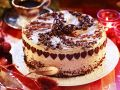 Festive Layer Cake with Coffee Frosting recipe