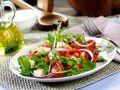 Feta and Pepper Green Salad recipe