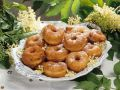 Fried Donuts with Elderberry Syrup recipe