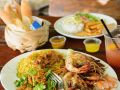 Fried Shrimp with Saffron Rice recipe