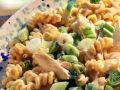 Fusilli with Chicken Breast, Tomatoes and Scallions recipe