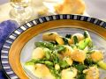 Gnocchi with Green Asparagus Ragout recipe
