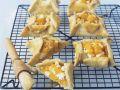 Goat's Cheese and Pumpkin Tarts recipe